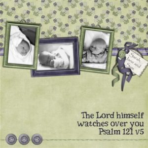 digital scrapbooking layout by janmary