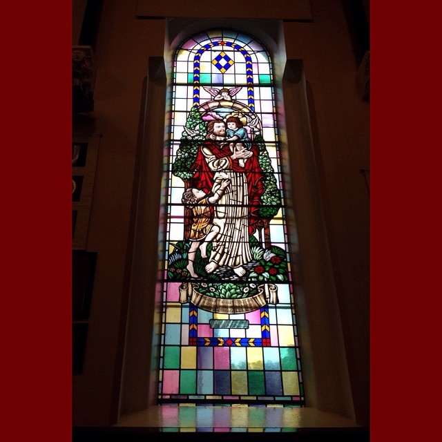stained glass seymour st