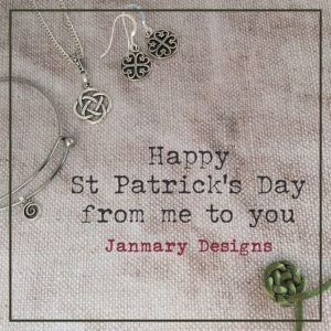 st patricks day celtic janmary designs