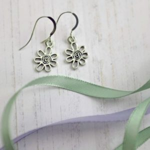 doodle daisy earrings janmary designs