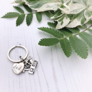 dad keyring with toolbox by janmary