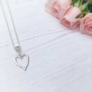 modern heart 2 necklace janmary