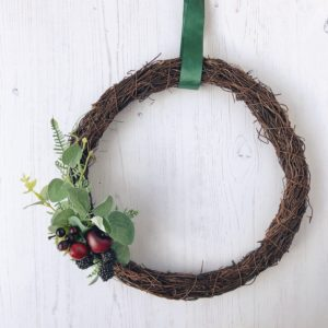 wonderful winter berries wreath janmary