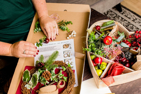 make your own wreath kit janmary