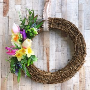 spring wreath by janmary