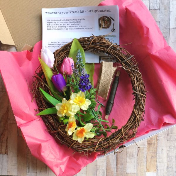 spring wreath kit by janmary
