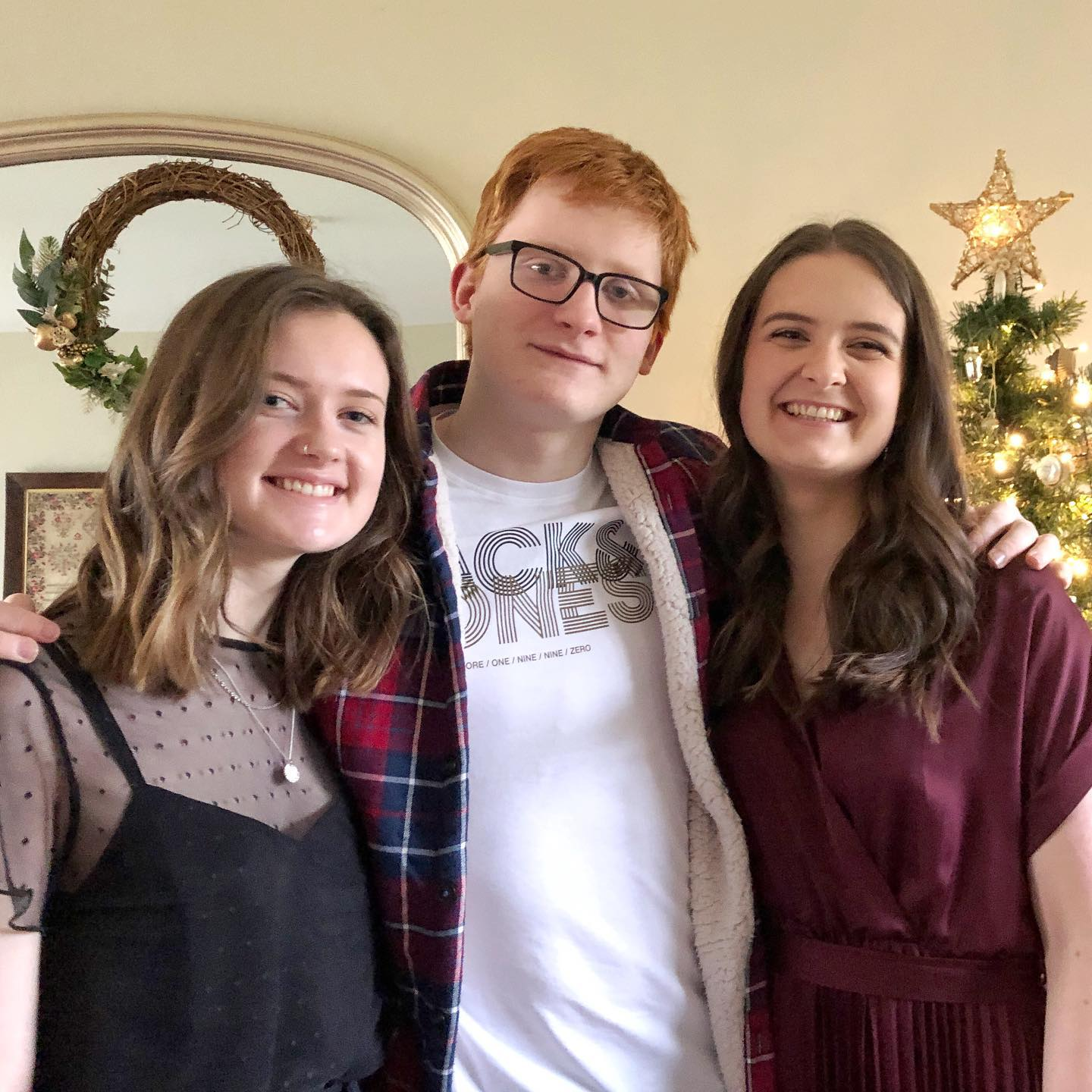 The loveliest Christmas morning with these 3 .... who still tolerate my photo taking!  Not the Christmas we expected so appreciating all we have.