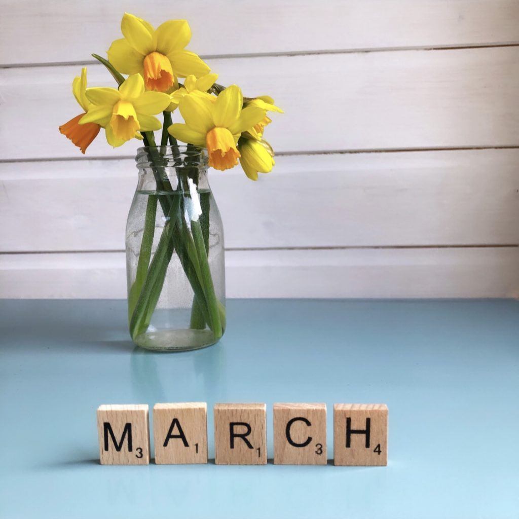 hello march janmary