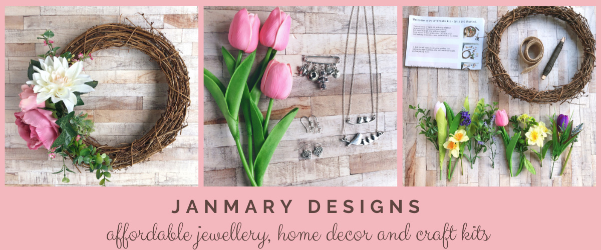 Janmary Designs online shop jewellery gifts home decor