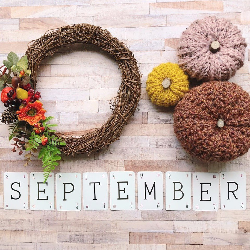 """""""September is the other January"""" …. Gretchen Rubin"""